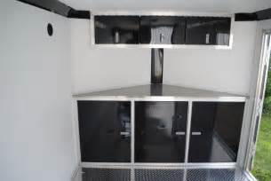 enclosed trailer shelving car interior design