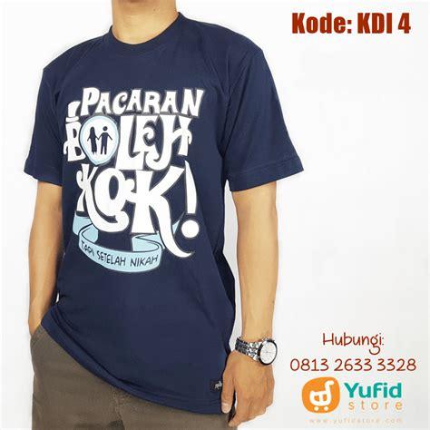 Kaos Baju T Shirt Oblong Islam 10 kaos dakwah islami toko muslim menjual