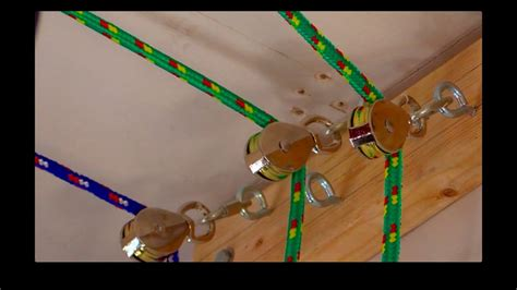 on a boat pulleys are used to raise and lower how to create a garage pulley storage system youtube