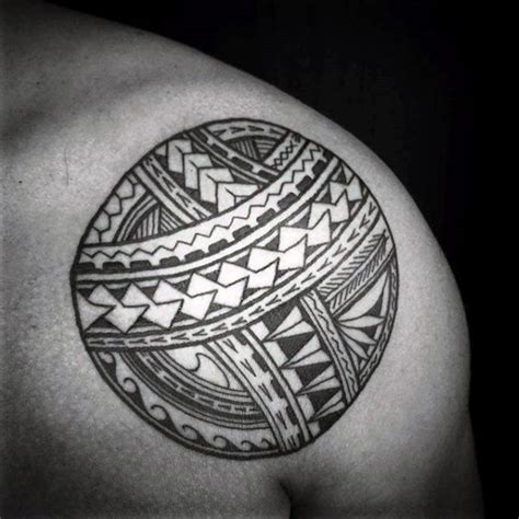 circle tribal tattoo 90 circle designs for circular ink ideas