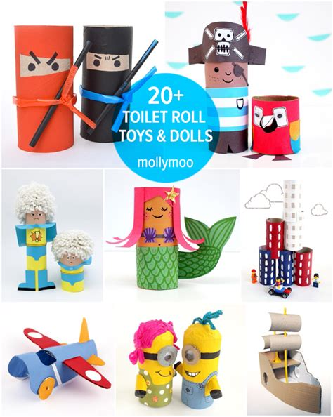Things To Make With Just Paper - 20 toilet roll crafts for toilet paper