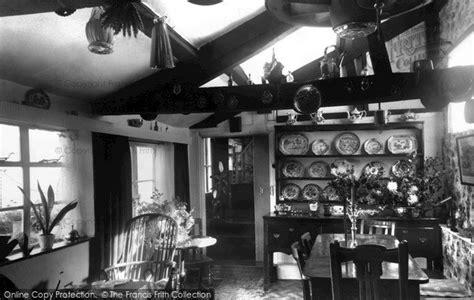 tudor tea room photo of weobley the tudor tea room interior c 1960