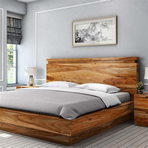 solid wood queen bed modern simplicity solid wood queen size platform bed