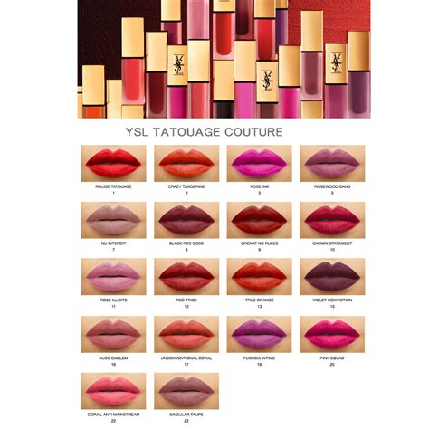 ysl lipstick 16 the of
