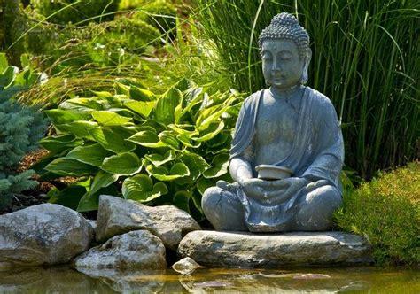 imagenes zen buda statue de jardin zen le bouddha 233 ternel et l art de d 233 corer
