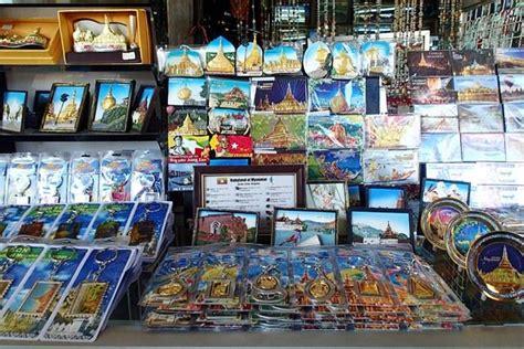 Importir Magnet Kulkas Souvenir Myanmar bogyoke pasar beringharjo di kota yangon myanmar oleh