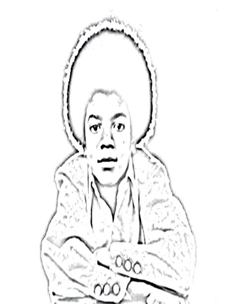 Michael Jackson Coloring Book Coloring Home Michael Coloring Pages