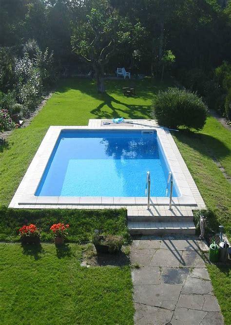 schwimmbecken garten yarial spa pool selber bauen interessante ideen