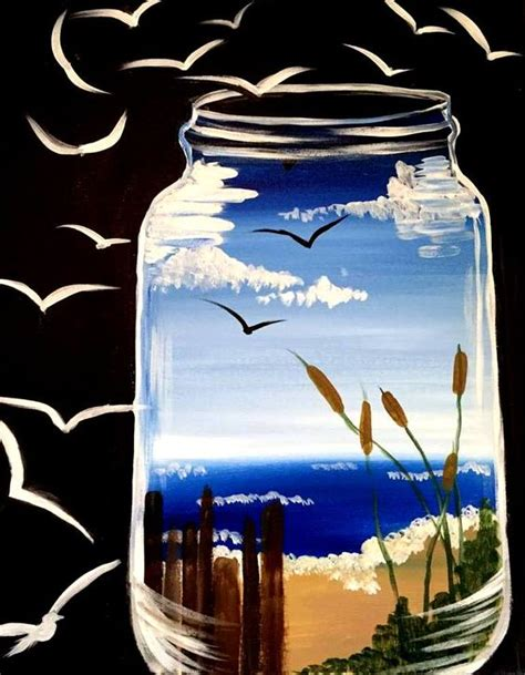 paint nite abq paint in a jar at space albuquerque