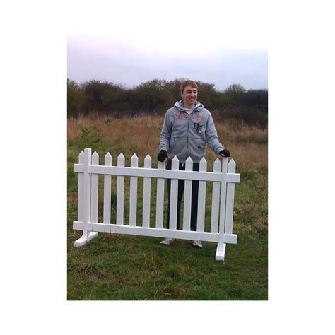 free standing fence sections temporary picket fence 6ft wide x 3ft high