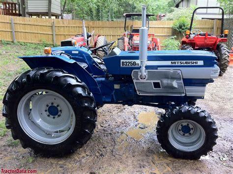 tractordata mitsubishi d3250 tractor photos information