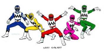 power rangers lost galaxy zcopion13 deviantart