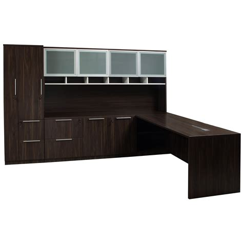l shaped desk with left return denmark executive l shape left return desk set american