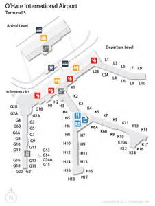 Ord o hare international airport terminal map