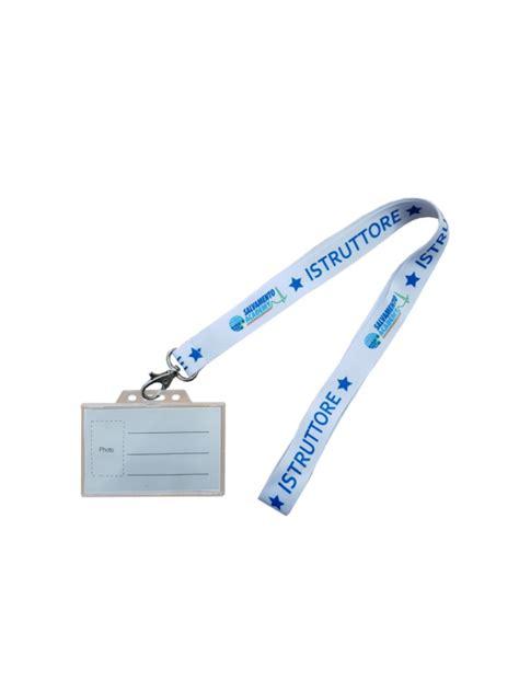 laccio porta badge laccio portabadge salvamento academy portabadge