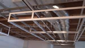 basement ceiling installation build basic suspended ceiling drops drop ceilings