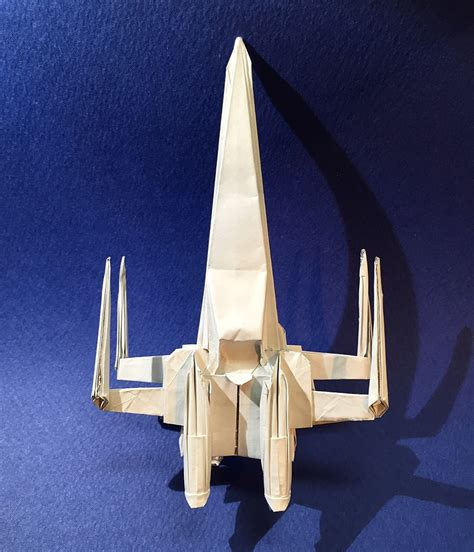 X Wing Origami - wars origami episode i vehicles and vessels