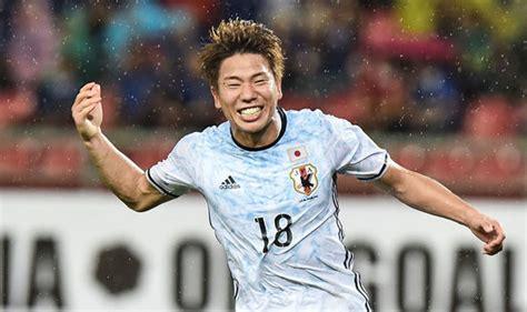 arsenal japanese player arsenal news arsene wenger hails japanese striker takumo