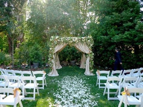 Inexpensive Backyard Wedding Ideas Cheap Backyard Wedding Ideas Ketoneultras