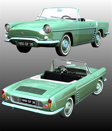 renault floride renault floride 1958 3d models 3dclassics