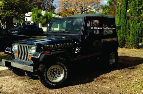 1992 Jeep Yj Jeep Wrangler 1992
