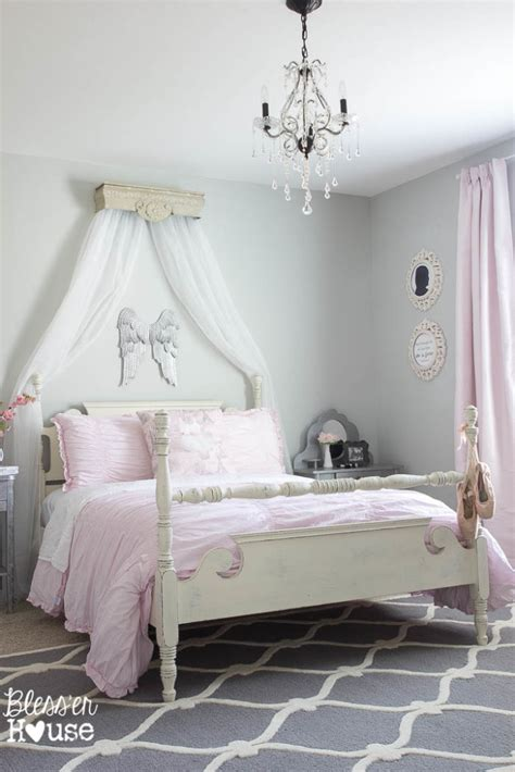 dance themed bedroom ballerina girl bedroom makeover reveal
