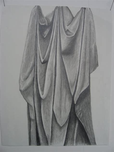 drape cloth draped cloth drawing