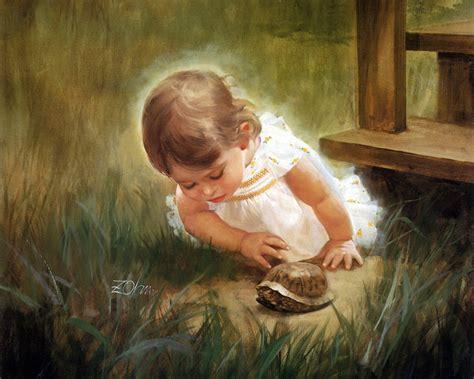 baby painting free il mondo di antony i bambini di donald zolan