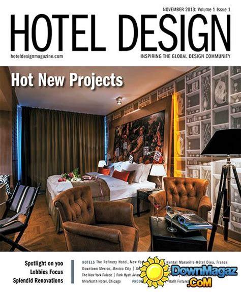 hotel design magazine november