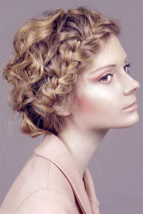 hairstyles easy for curly hair 15 easy hairstyles for short curly hair short hairstyles