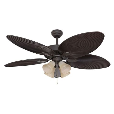home depot ceiling fan blades fans tortola 52 in bronze ceiling fan 10055 the