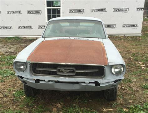 mustang a code 1967 ford mustang a code barn find for sale