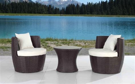 Modern Outdoor Patio Furniture Sets for Small Spaces