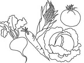 vegetables coloring pages vegetable coloring pages to print az coloring pages