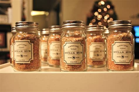 homemade christmas gifts for coworkers gift idea genuine steak rub entertaining