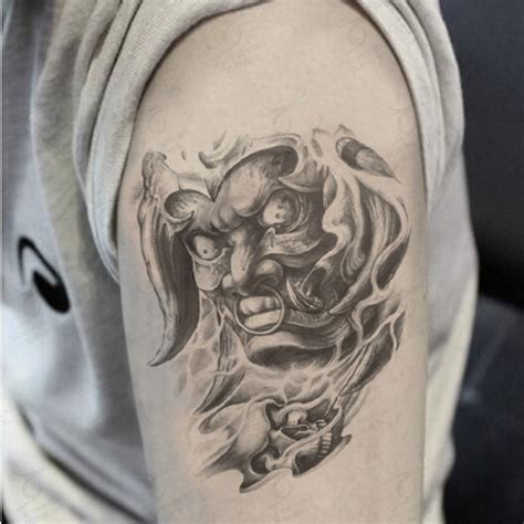 temporary body tattoos for men large arm temporary praj hannya