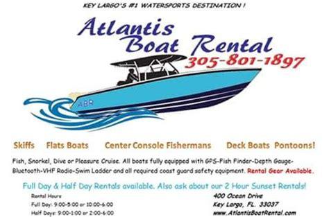 atlantis boat rental key largo atlantis boat rental key largo fl omd 246 men tripadvisor