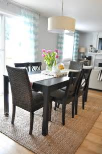 Dining Table Rugs Suburbs Dining Area Third Times The Charm For The Home