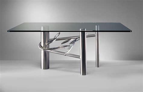 20 Sleek Stainless Steel Dining Tables