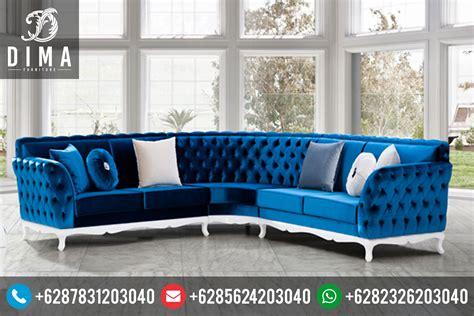 Sofa L Minimalis Modern mebel jepara terbaru kursi sofa sudut l minimalis modern