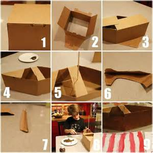 1000 ideas about cardboard box boats on pinterest