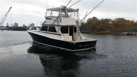 viking boats and tackle 1984 used viking yachts convertible fishing boat for sale