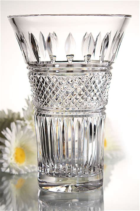 Waterford Lace Vase by Waterford Lace Flared Vase