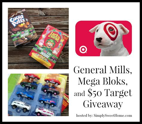 General Mills Giveaway - general mills mega bloks and target giveaway