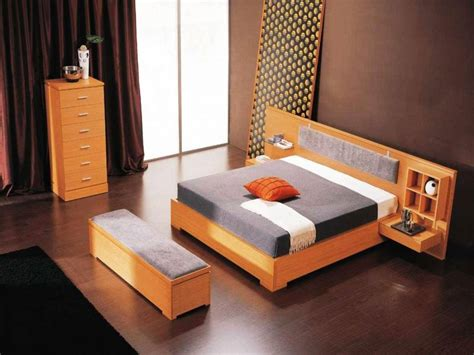 bed living room ideas inspiration minimalist bedroom interior design style with orange bed furniture and black rug on