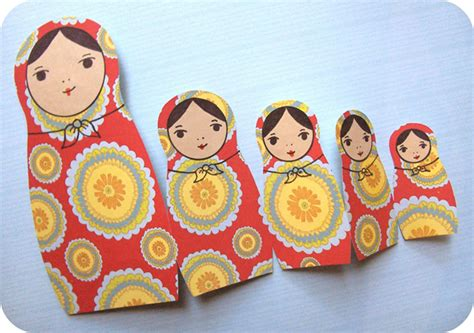 how to matryoshka doll fold out card make