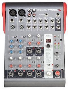 Mixer Proel Mi 10 Original proel mi10 10 channel mixer with effects djpundits
