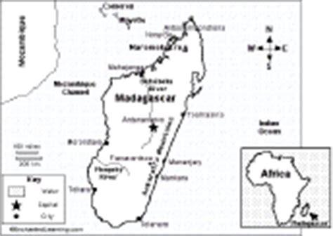 madagascar map coloring page madagascar enchantedlearning com