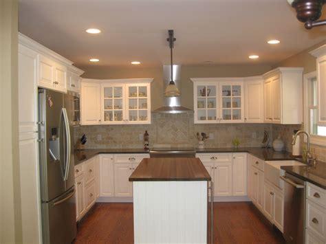 shaped kitchen design decoration ideas interior
