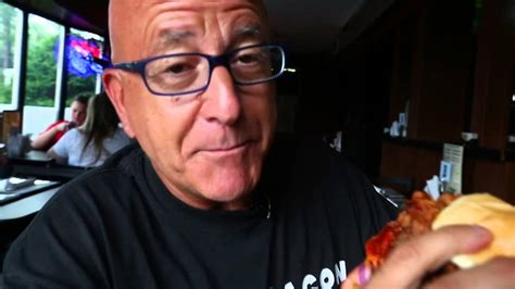 dog house washington township pete genovese attacks the meat lovers burger at dog house saloon grill youtube